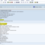 Creation of company – Organisational Structure in SAP